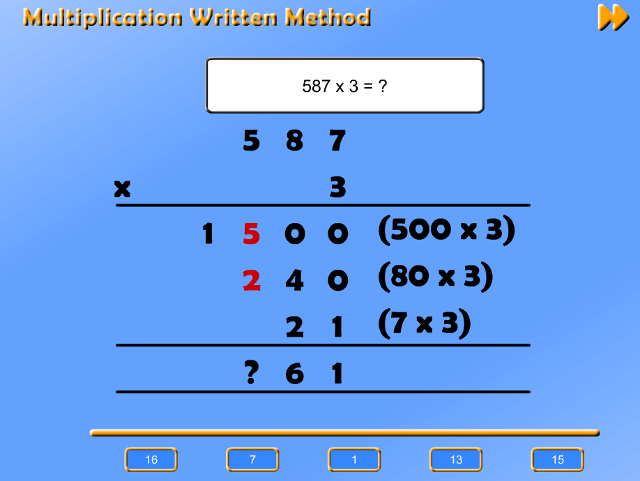 multiplication-written-method