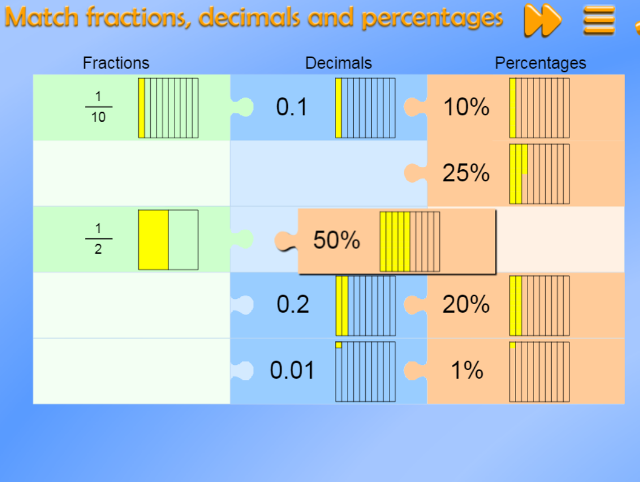 match-fractions-decimals-and-percentages