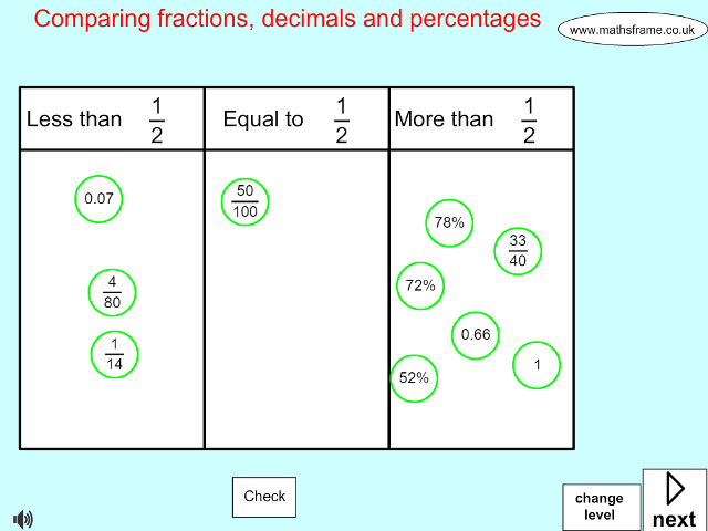Compare and order unit fractions and fractions with the same – Comparing Unit Fractions Worksheet