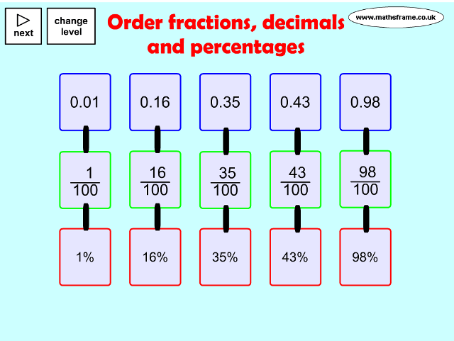 order-fractions-decimals-and-percentages