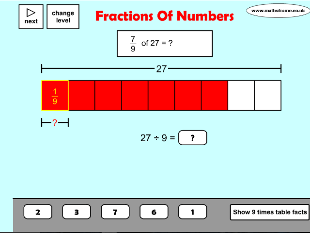 fractions-of-numbers
