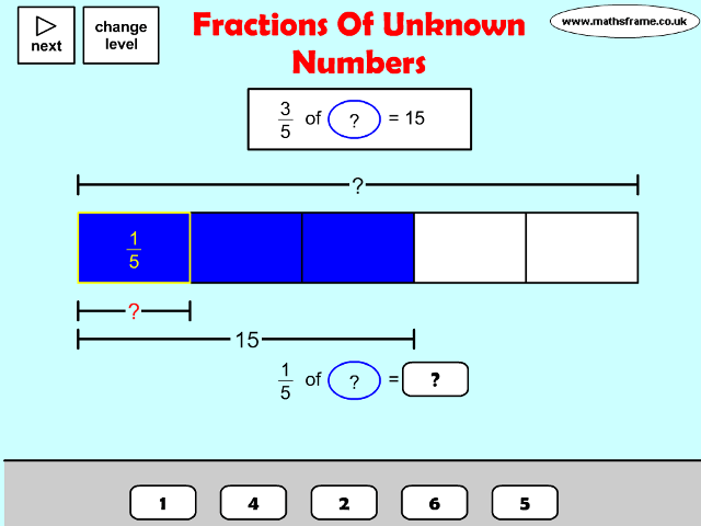 Fractions Decimals and Percentages - Mathsframe
