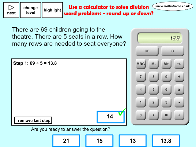 Word Problems - Mathsframe