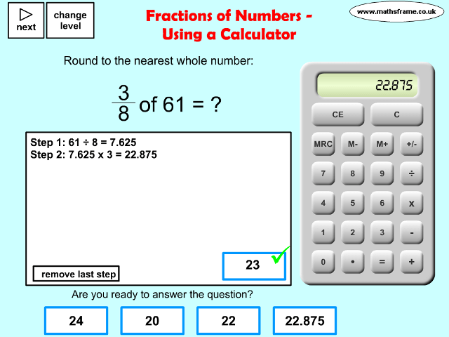 how to change a percent to a whole number