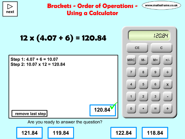 photo relating to Order of Operations Game Printable identified as Multiplication and Department - Mathsframe