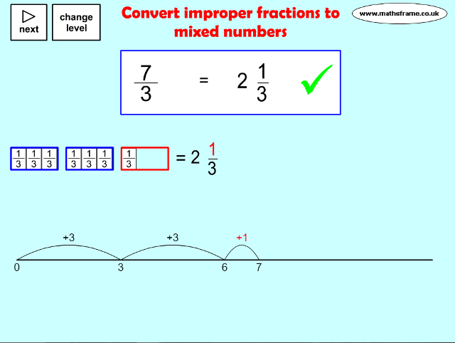 Converting mixed numbers to improper fractions worksheet ks2