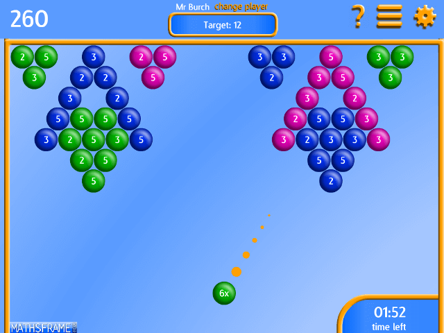Bubble-Pop-Multiplication
