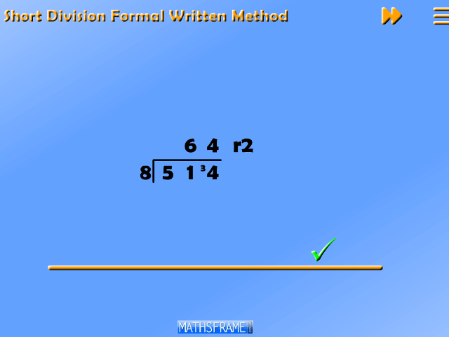 Short-Division-Formal-Method