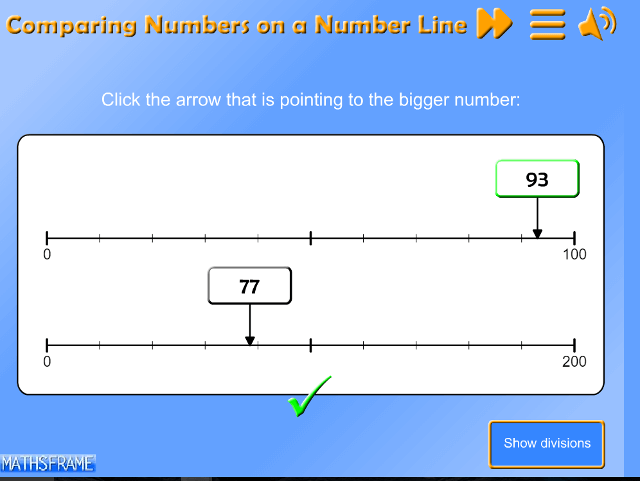 Compare-Numbers-on-a-Number-Line