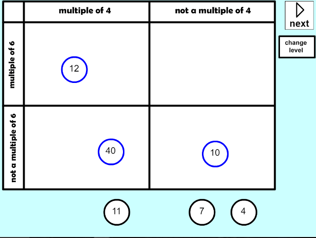 Finding Multiples Carroll Diagram Mathsframe – Finding Multiples Worksheet