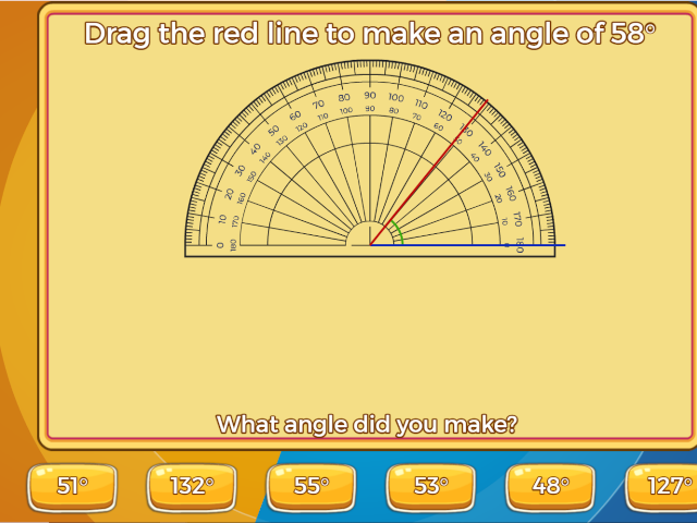 Estimate Angles And Use A Protractor To Measure And Draw Them On