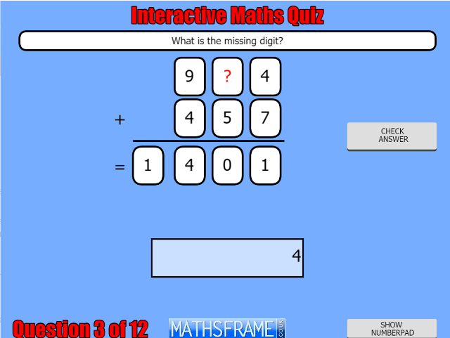 Y4-Number-Addition-and-Subtraction-Interactive-Quiz
