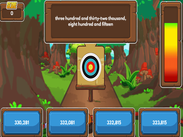 Archery-Arithmetic-Reading-Numbers