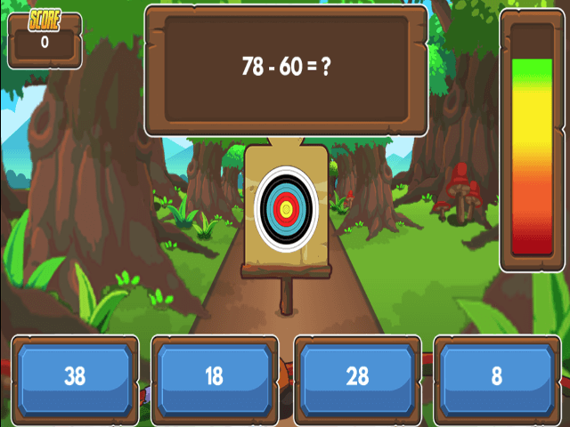 Archery-Arithmetic-Subtraction