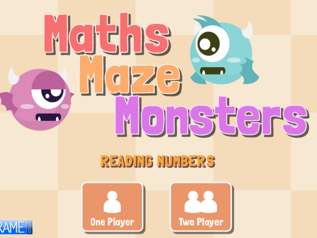 Maths-Maze-Monsters-Reading-Numbers