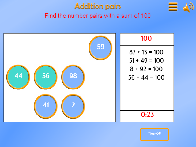Addition and subtraction mathsframe number bonds ibookread ePUb