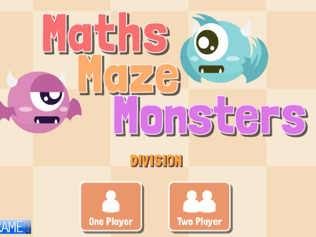 Maths-Maze-Monsters-Division