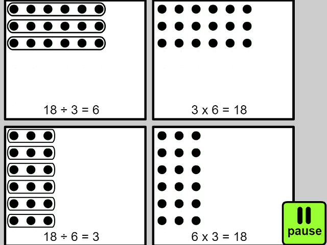 solve problems involving multiplication and division using – Division Arrays Worksheets