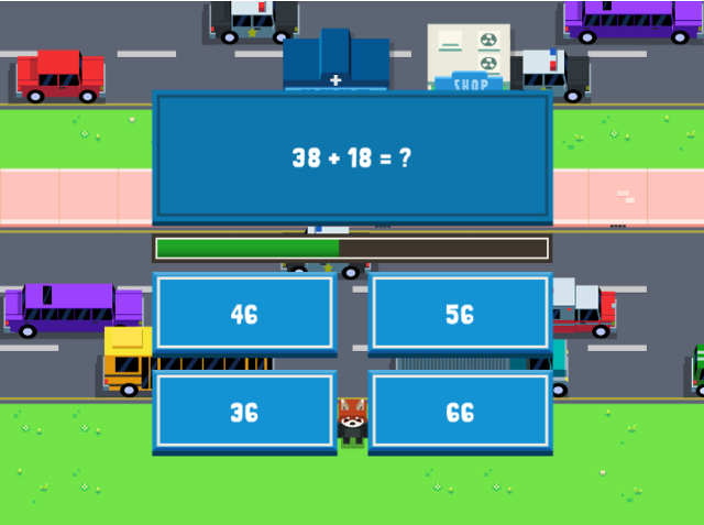 Addition-Maths-Road-Hopper