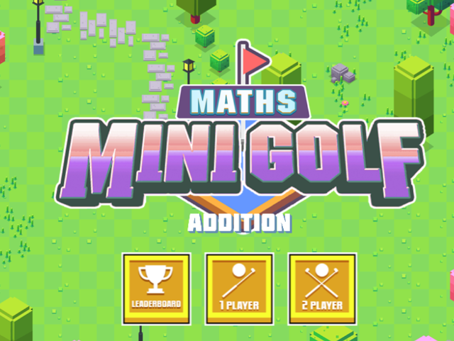 Addition-Mini-Maths-Golf