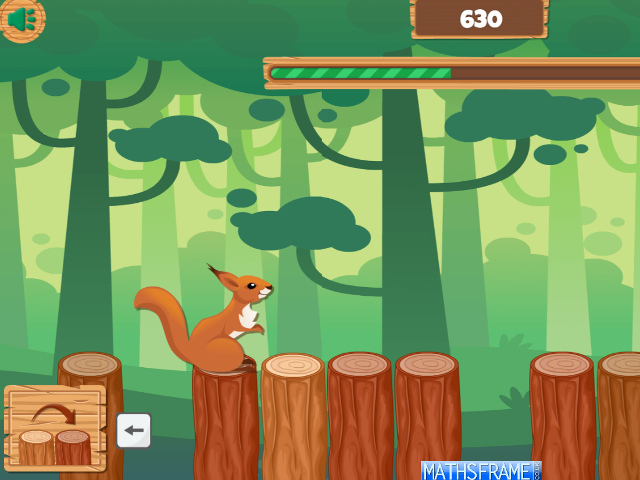 Maths-Squirrel-Jump