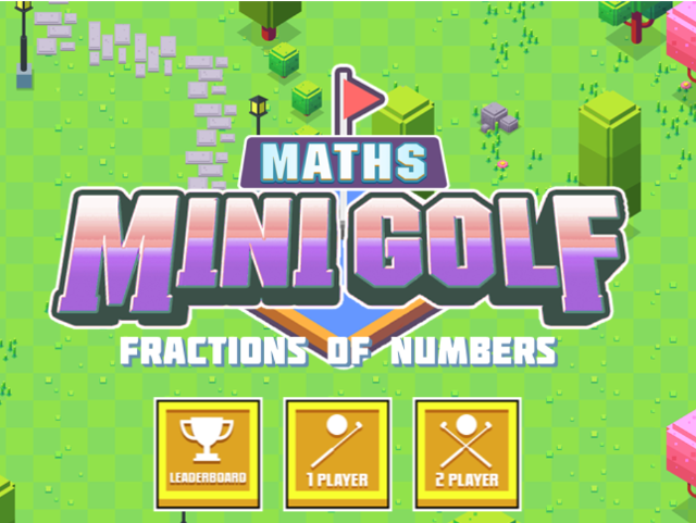 Fractions-of-Numbers-Mini-Maths-Golf