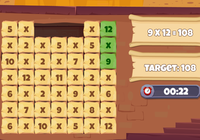 Multiplication-Tile-Crash